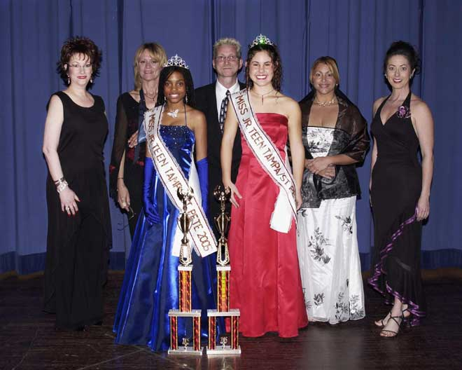 Fran Fernandez was the judge for Miss Junior Teen Tampa/St. Pete Beauty Pageant